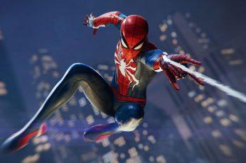 Wallpaper Spiderman Ps4, Games, Hd, 2018 Games, Ps Games