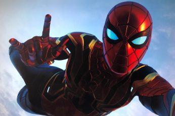 Wallpaper Spiderman Ps4, Superheroes, Games, Hd, 4k