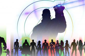 Wallpaper The Avengers, Avengers Endgame, Black Panther