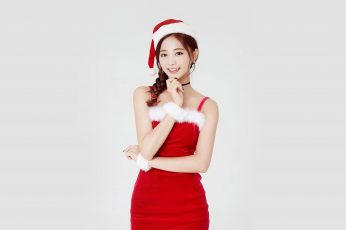 Wallpaper Twice, Tzuyu, Girl, Christmas, Kpop