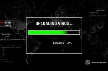 Wallpaper Uploading Virus Digital Wallpaper, Technology