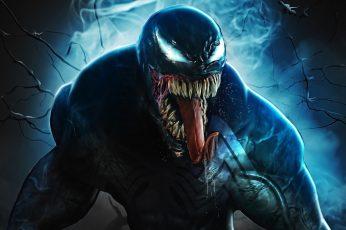 Wallpaper Venom, Artwork, Marvel Comics, Marvel Cinematic