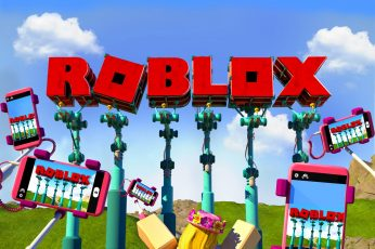 Wallpaper Video Game, Roblox, Sky