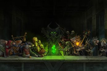 Wallpaper Videon Game Digital Wallpaper, Warhammer