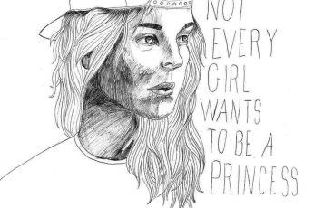 Tomboy Girl Quote Wallpaper