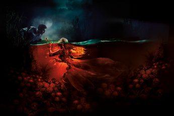 Wallpaper 4k, The Mermaid Lake Of The Dead, Horror