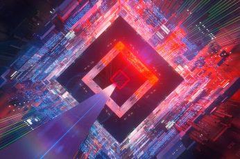 Wallpaper Abstract, 3d, Digital Art, Geometry