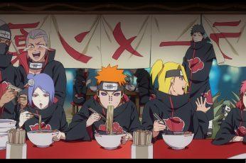 Wallpaper Akatsuki, Anime, Naruto,