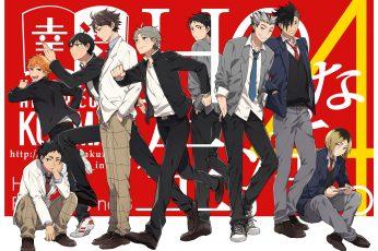 Wallpaper Anime Characters Wallpaper, Haikyuu!!, Anime Boys