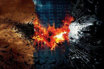 Wallpaper Batman Illustration, Batman Begins, The Dark Knight