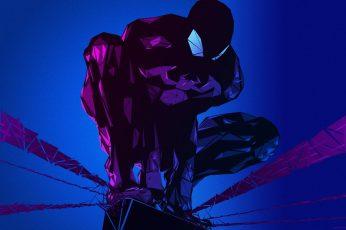 Wallpaper Black Marvel Spider Man Illustration, Comics, Marvel