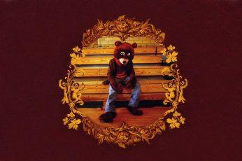 Wallpaper Brown Bear Costume, Hip Hop, Kanye West
