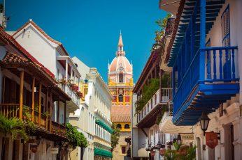 Wallpaper Cartagena, Colombia, Trip, Caribbean, Architecture