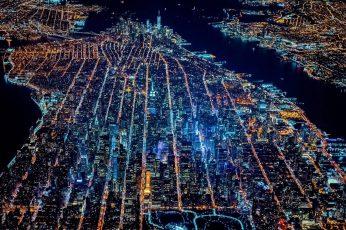 Wallpaper Cityscape Digital Wallpaper, Aerial Photography
