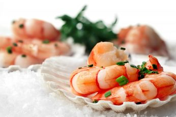 Wallpaper Cooked Shrimp, Food, Food And Drink, Healthy Eat