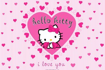Wallpaper Cute Hello Kitty Anime