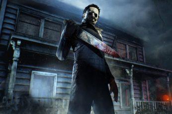Wallpaper Dead By Daylight, Video Games, Horror