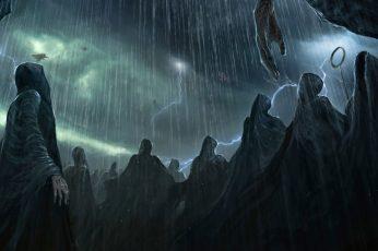 Wallpaper Dementors Harry Potter, Josh Hutchinson, Fantasy