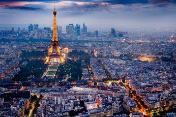 Wallpaper Eiffel Tower, France, Eiffel Tower Paris, France