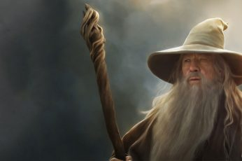 Wallpaper Gandalf Lord Of The Rings