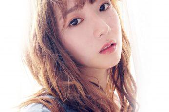 Wallpaper Girl, Cute, Kpop, Celebrity, Long Hair