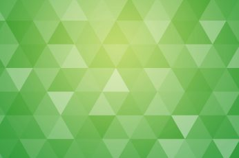 Wallpaper Green Abstract Geometric Triangle Background