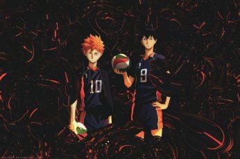 Wallpaper Haikyuu!!, Anime Boys, Hinata Shouyou, Kageyama
