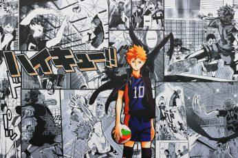 Wallpaper Haikyuu!!, Anime Boys, Hinata Shouyou, Manga