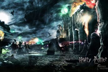 Wallpaper Harry Potter And The Deathly Hallows
