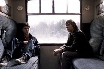Wallpaper Harry Potter Daniel Radcliffe Rupert Grint Ron