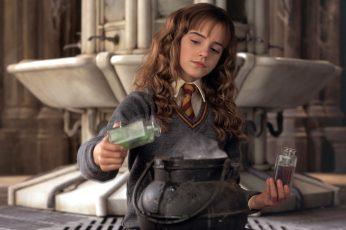 Wallpaper Harry Potter, Hermione Granger, Emma Watson