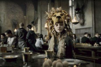 Wallpaper Harry Potter Movie Still, Movies, Luna Lovegood