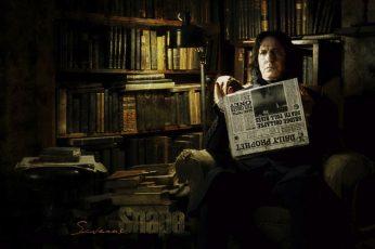 Wallpaper Harry Potter Severus Snape