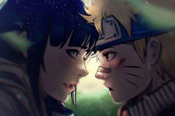 Wallpaper Hinata And Naruto Illustration, Anime, Hinata