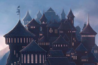 Wallpaper Hogwarts, School, Magic, 5k, Harry Potter