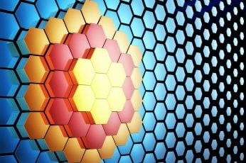 Wallpaper Honeycomb, 3d, Pattern, Hexagon, Abstraction