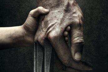 Wallpaper Human Hand With Claw Illustration, Logan 2017