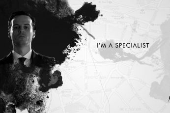Wallpaper I'm A Specialist Digital Wallpaper, James Moriar