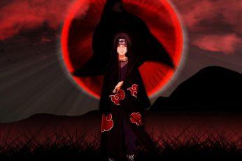 Wallpaper Itachi Uchiha, Naruto Shippuuden