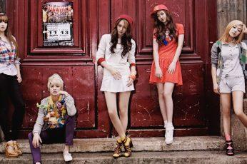 Wallpaper Korean Kpop Band Fx, Celebrities