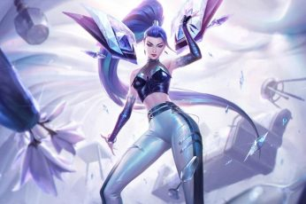 Wallpaper League Of Legends, Seraphine, Riot Games