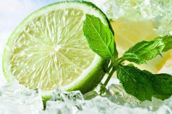 Wallpaper Lime, Citrus, Fruit, Food, Lemon, Fresh
