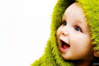 Wallpaper Little Cute Baby