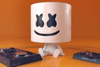 Wallpaper Marshmello, Cute, Music Producer