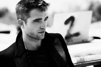 Wallpaper Mens Black Blazer, Robert Pattinson, Actor
