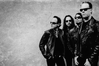 Wallpaper Metallica Bw Band Hd, Music