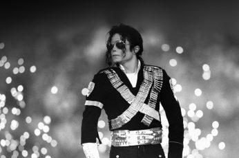 Wallpaper Michael, Jackson, Bw, Concert, King, Of, Pop