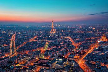 Wallpaper Most Beautiful Places Paris, Eiffel Tower, Paris