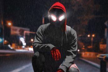 Wallpaper Movie, Spider Man Into The Spider Verse