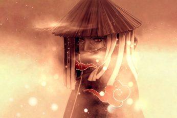 Wallpaper Naruto Character Digital, Naruto Shippuden